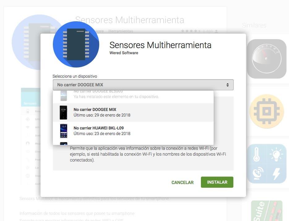 instalar aplicaciones ordenador android
