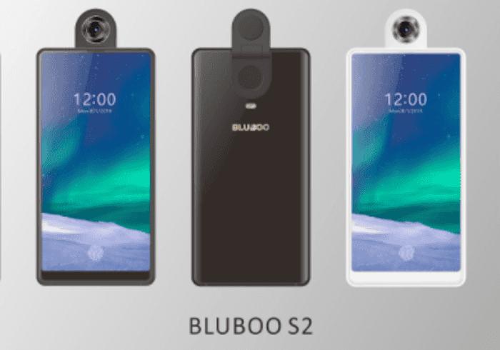 El Bluboo S2 llegará con sensor de huellas bajo la pantalla y una cámara giratoria