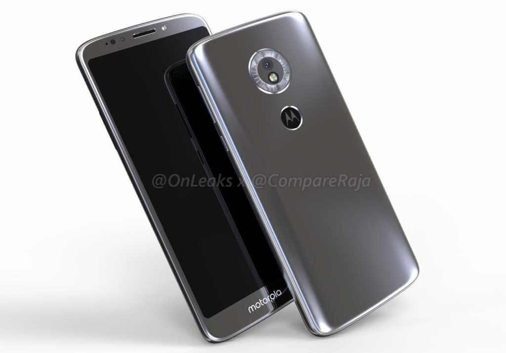 Así será el nuevo Motorola Moto G6 Play para la gama media de 2018