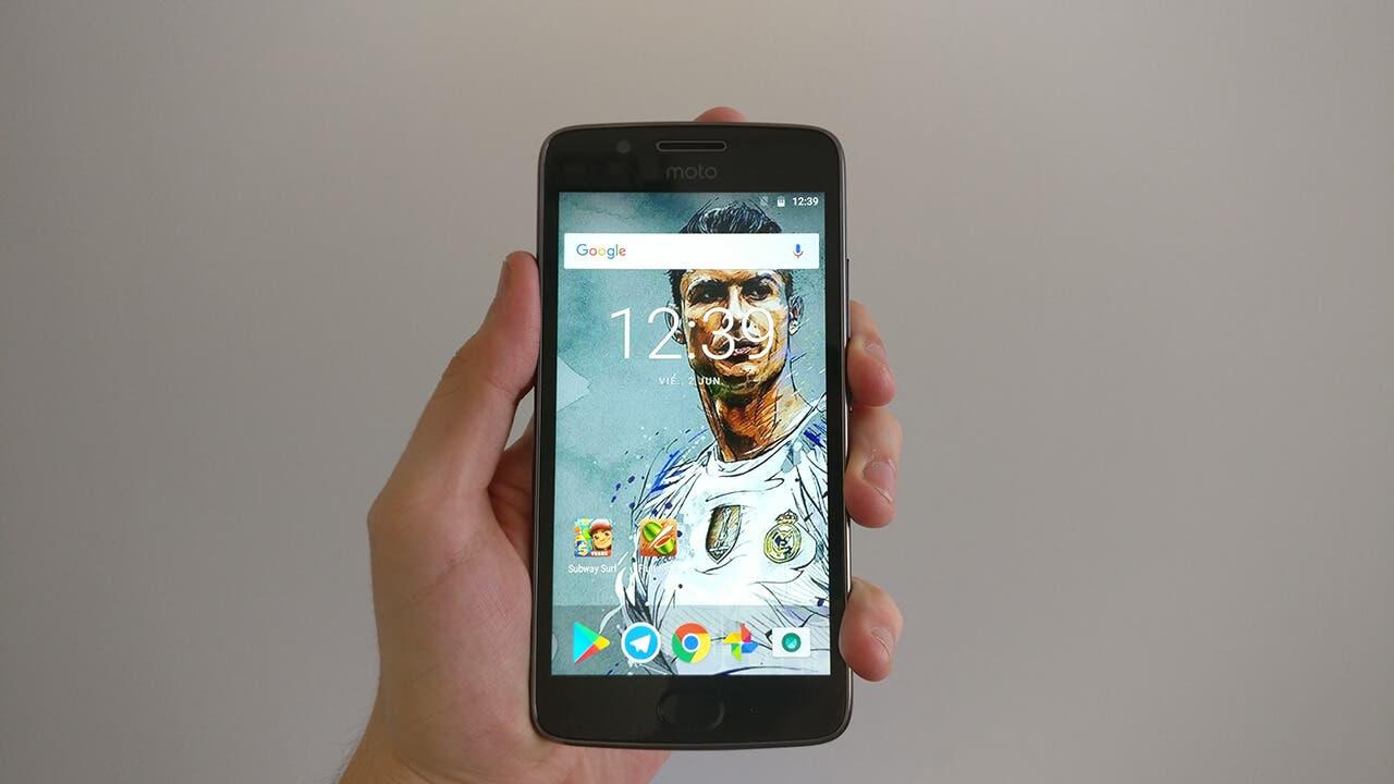 Motorola Moto G5 pantalla