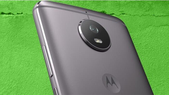 Motorola Moto G5s trasera
