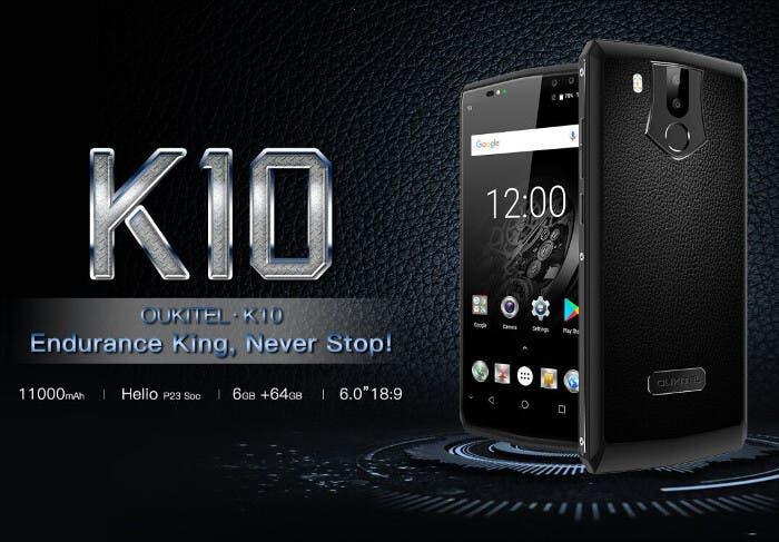 ¿Un móvil con una semana de autonomía? ¡Aquí tienes el Oukitel K10!