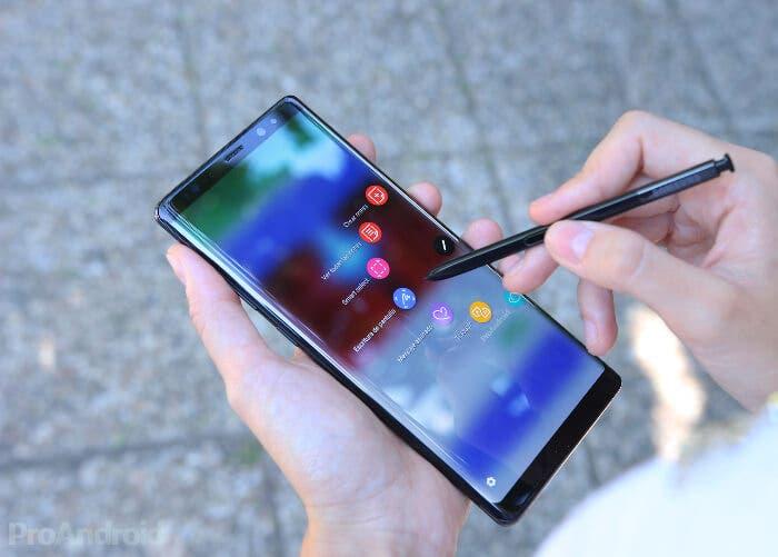 Filtrado el frontal del Samsung Galaxy Note 9 con biseles muy estrechos