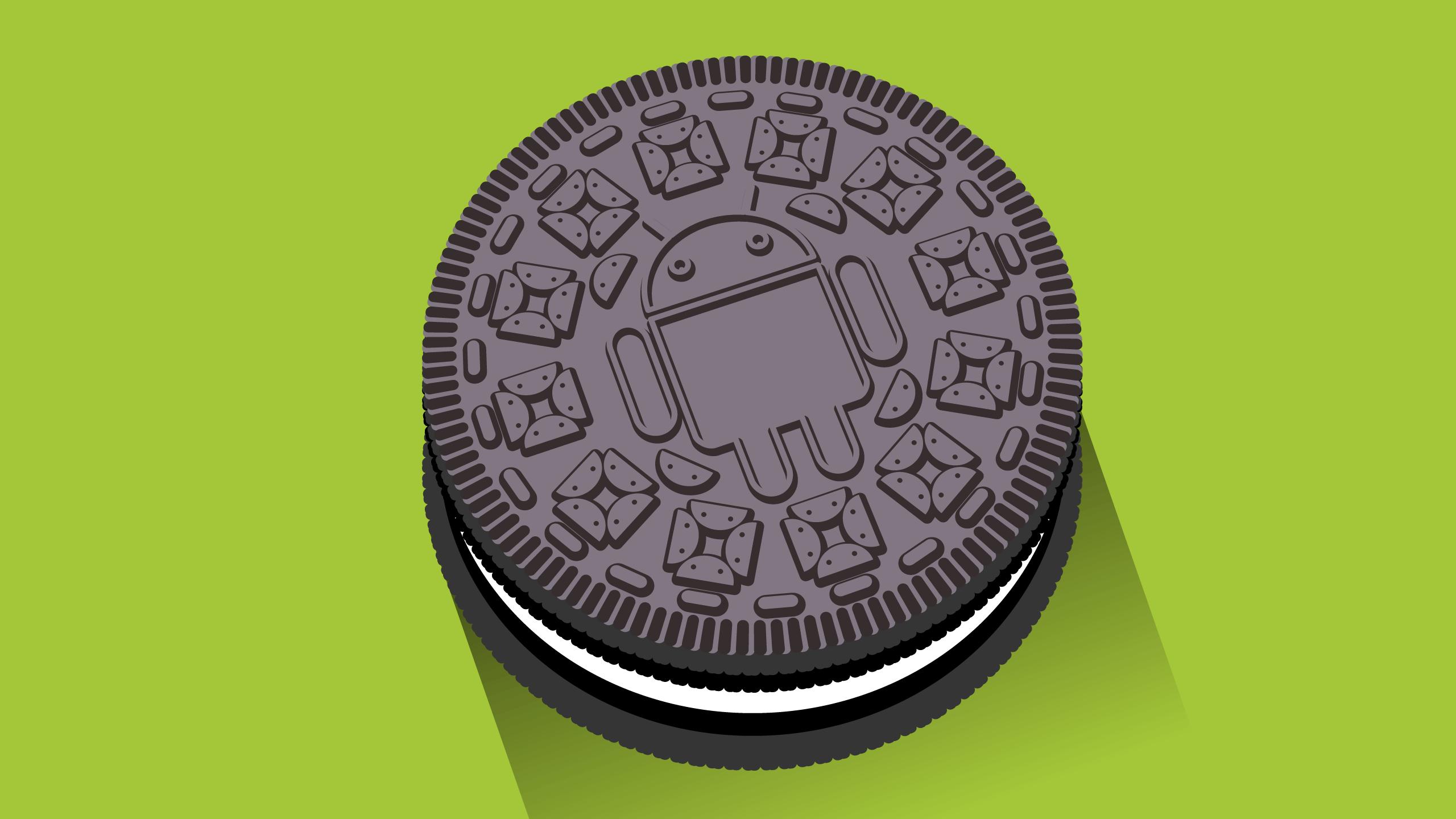 Android Oreo galleta
