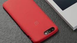 OnePlus 5 funda roja