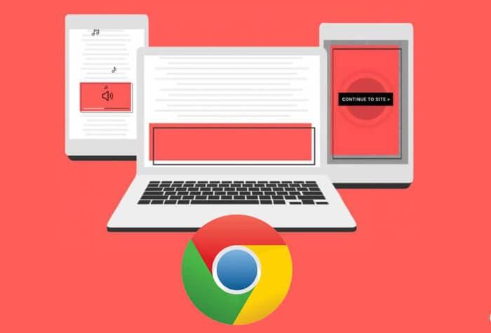 Google Chrome por fin bloquea los anuncios con sonido y redirecciones abusivas