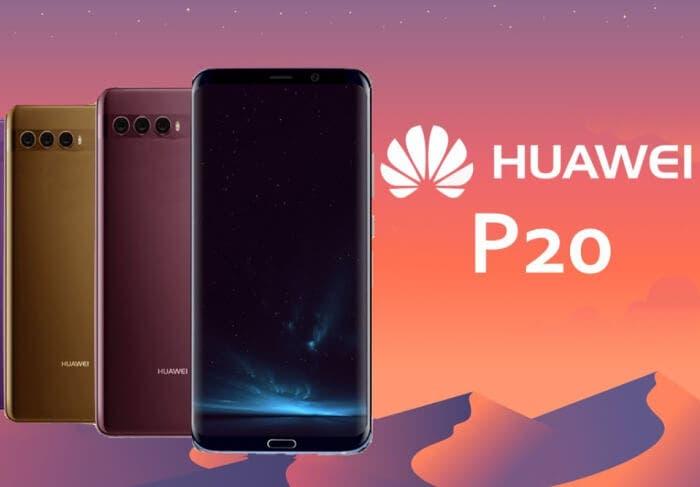 El próximo Huawei P20 contará con pantalla muy parecida a la del Galaxy S8