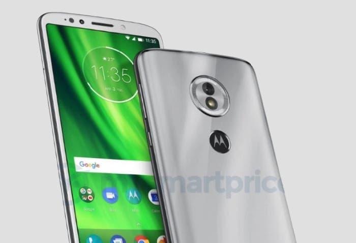 Así es el Motorola Moto G6 Play con sensor de huellas en la parte trasera