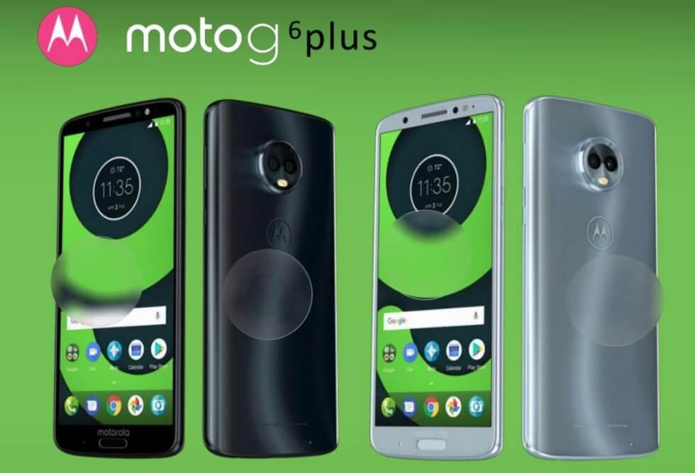 Motorola Moto G6 Plus diseño