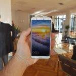diseño del Huawei P Smart