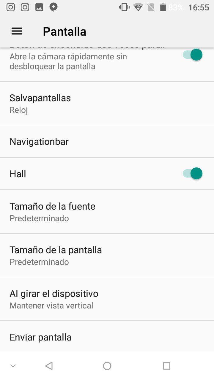 cambiar la resolución sin root en Android