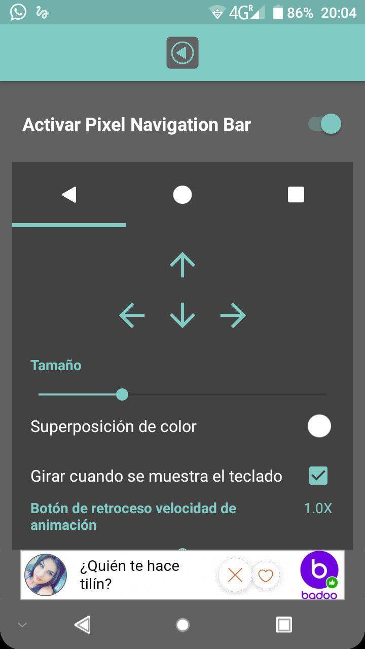 google pixel barra