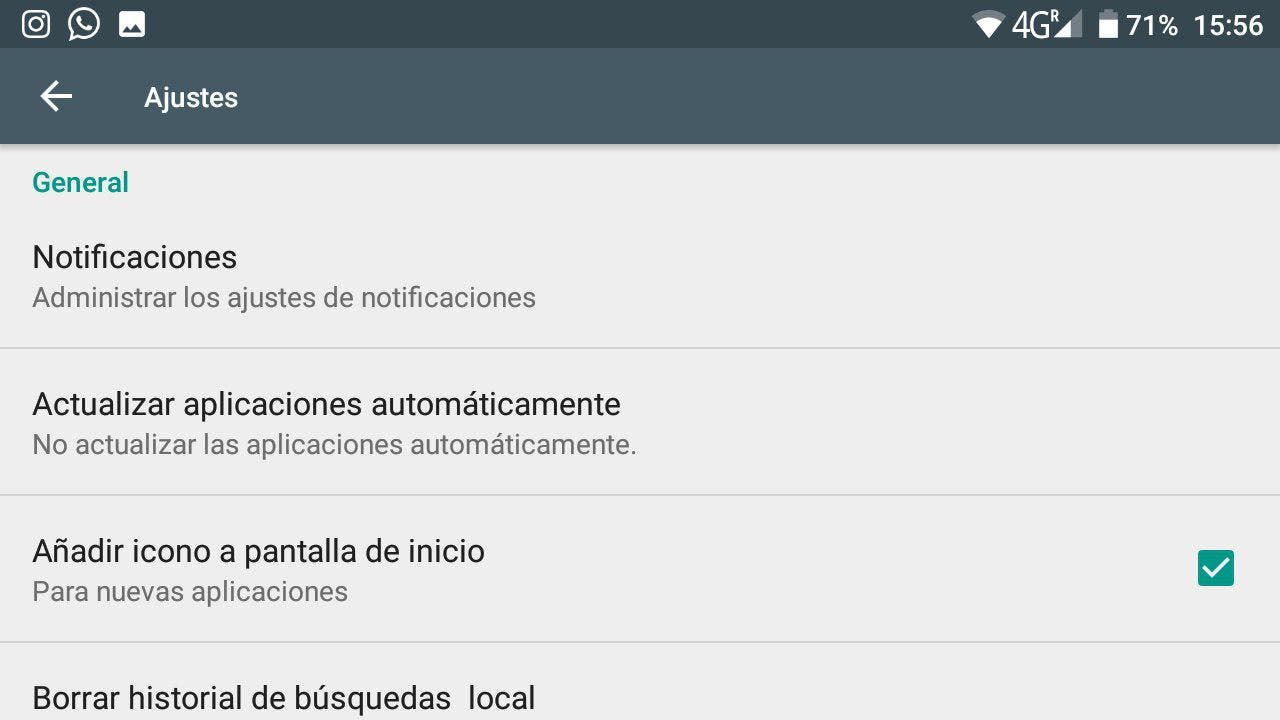 actualizaciones automáticas android