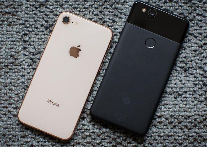 Cinco razones por las que elegir Android frente a iOS