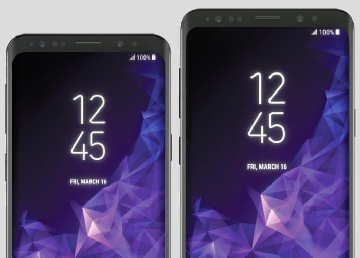 Nuevos renders del Samsung Galaxy S9 y S9+ que podrían revelar el diseño final