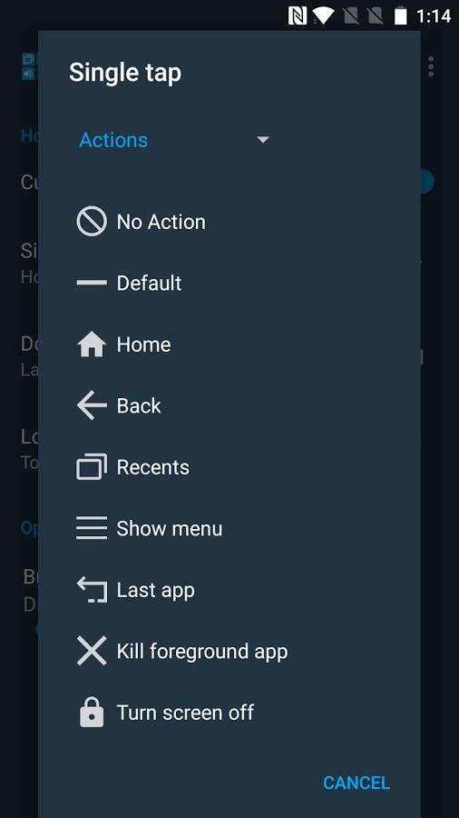 mapear botones en android