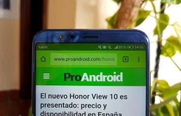 Así es la increíble pantalla del Honor Note 10