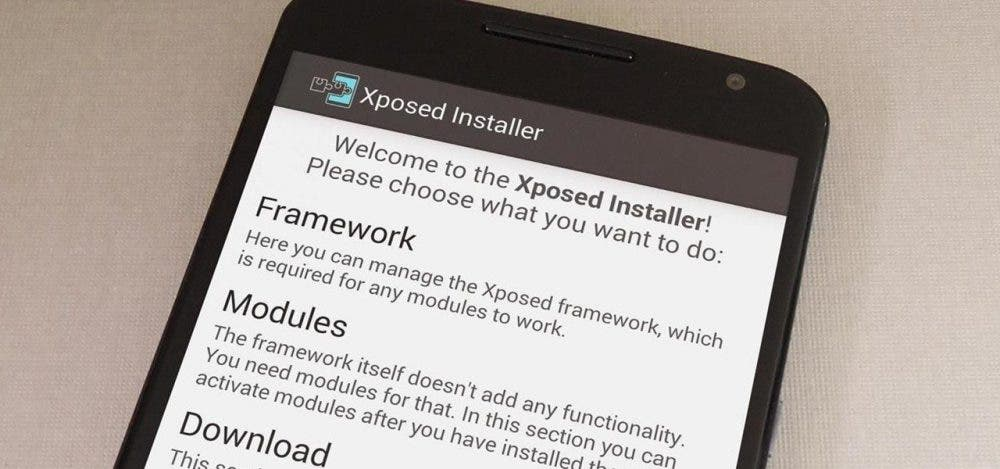 xposed android