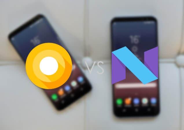 Android Oreo vs Android Nougat: así cambia la interfaz del Galaxy S8 con la nueva actualización
