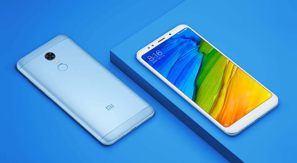 Xiaomi redmi 5 plus azul