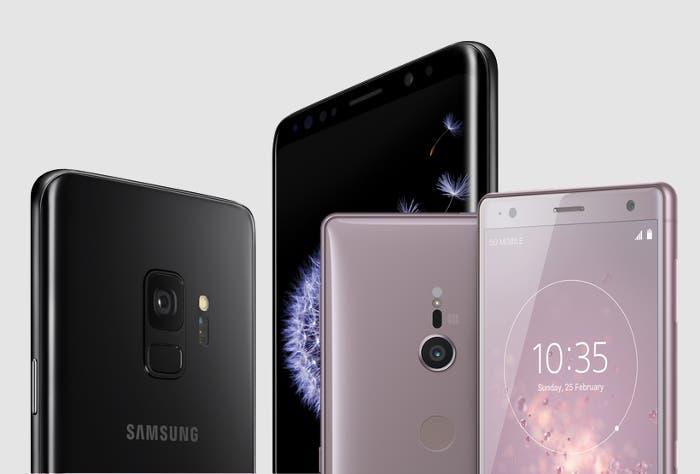 Samsung Galaxy S9 vs Sony Xperia XZ2: ¿cuál de los dos gama alta es mejor?