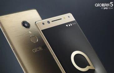 Alcatel 5, Alcatel 3 y Alcatel 1: así son los nuevos móviles de la compañía