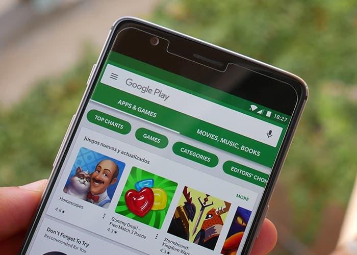 Google Play vuelve a renovar su diseño con Material Design