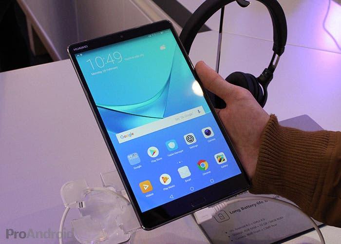 Primeras impresiones de la Huawei Mediapad M5 de 8'4 pulgadas