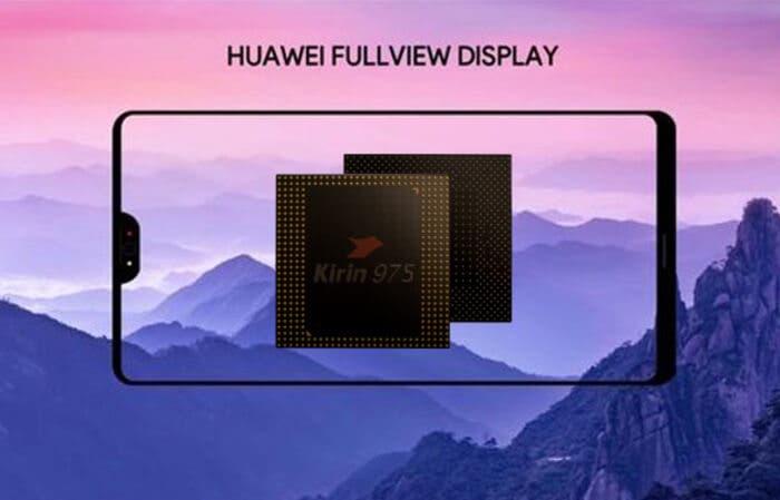 Esta imagen real del Huawei P20 nos muestra un diseño casi idéntico al iPhone X