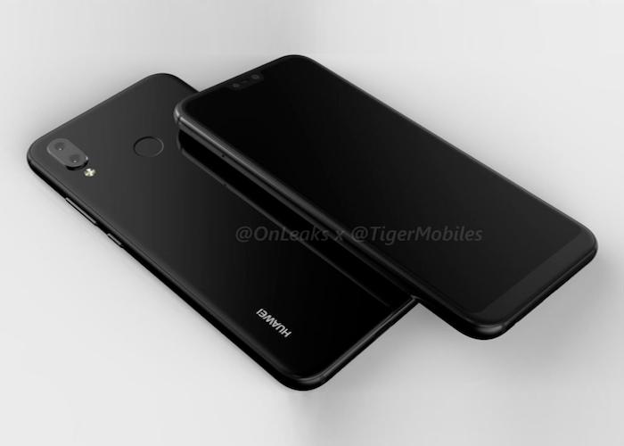Nuevos renders en video del Huawei P20 Lite confirman un diseño parecido al iPhone X