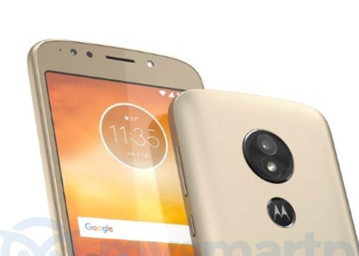 Motorola moto render en dorado