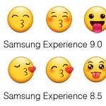 emojis de caras de Samsung