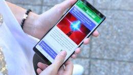 Samsung Galaxy Note 8 navegando en Chrome