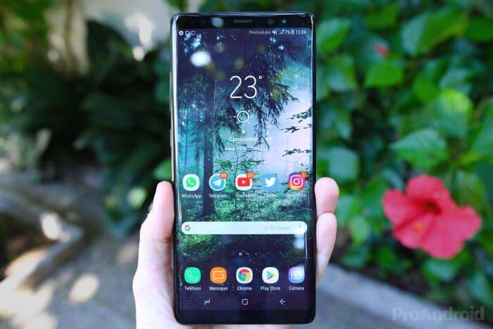 Filtrado el diseño del Samsung Galaxy Note 9 en un render oficial
