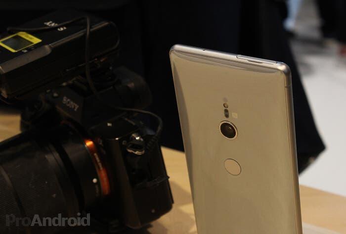 Nuevo render filtrado del Sony Xperia XZ3 con un nuevo diseño