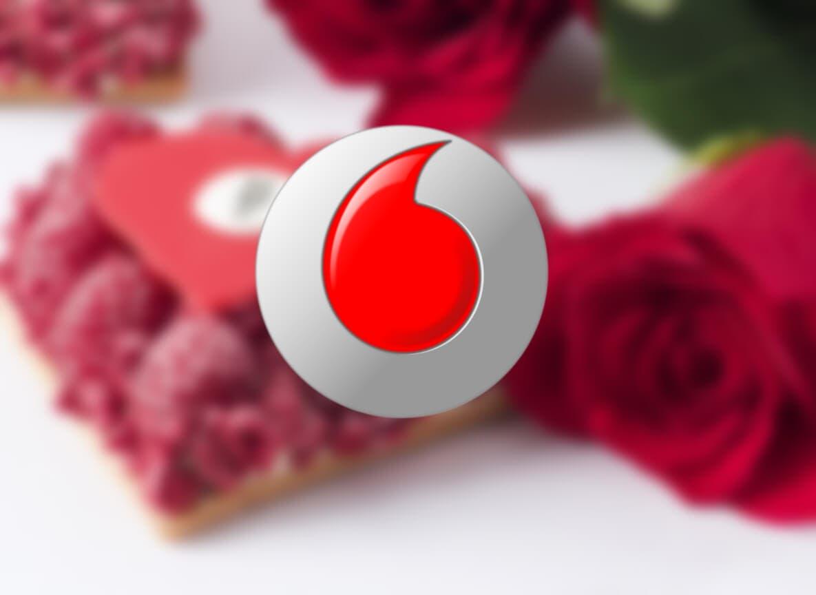 Datos y llamadas gratis para todos los clientes de Vodafone por San Valentín