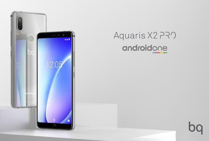 BQ Aquaris X2 y X2 Pro: así son los nuevos smartphones de BQ con Android One