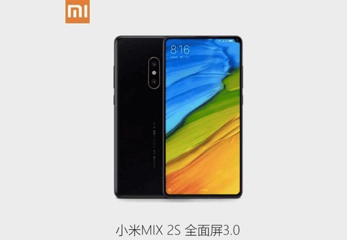 Filtradas las características del Xiaomi Mi MIX 2s que veremos en el MWC