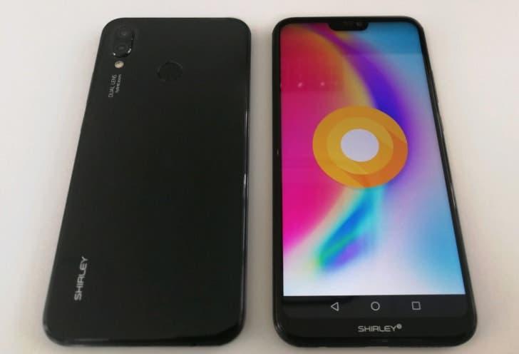 diseño del Huawei P20 Lite