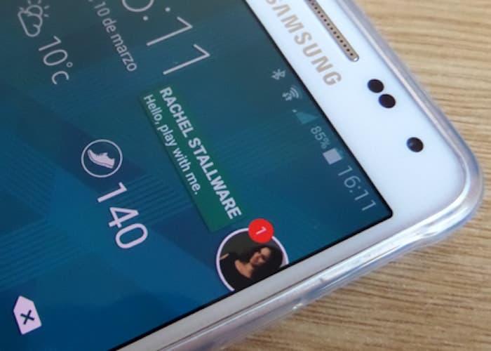 Cómo tener notificaciones flotantes de cualquier aplicación en Android