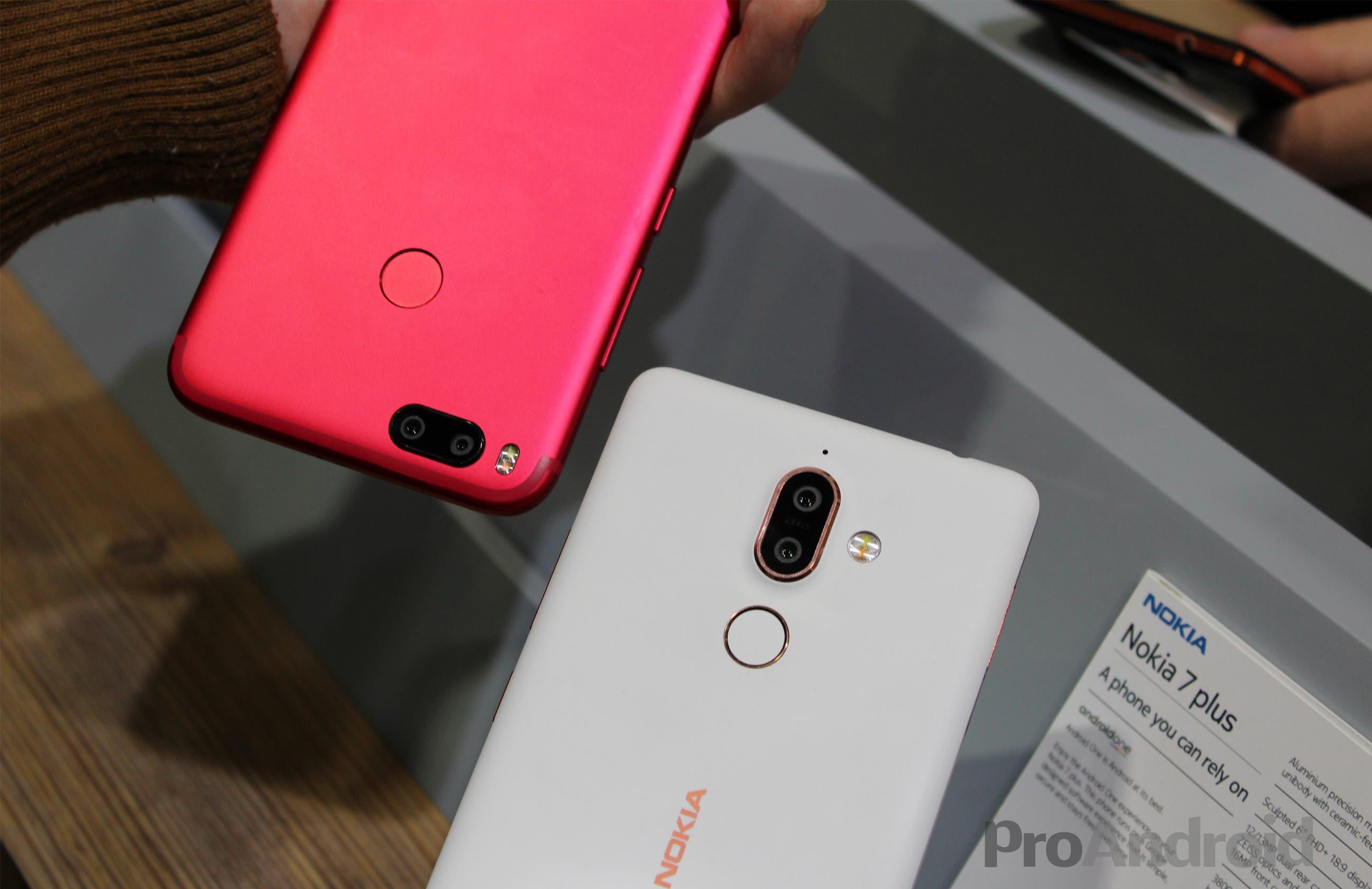 Nokia 7 Plus vs Xiaomi Mi A1 Cámaras