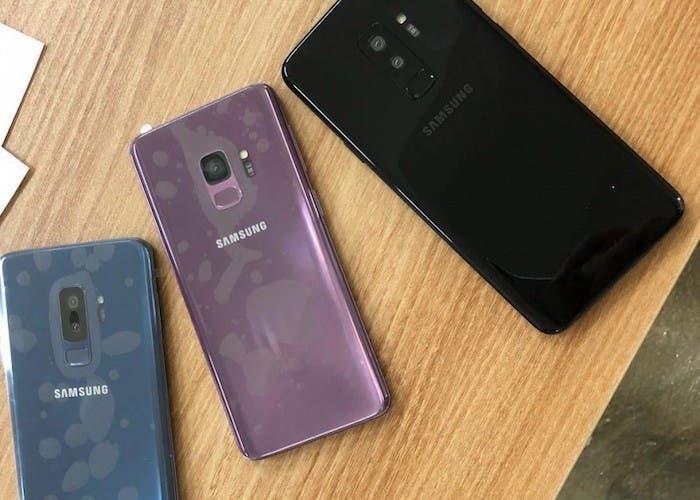 Se filtran más fotografias reales del Samsung Galaxy S9 y S9+