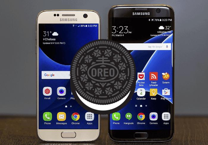 La actualización de Android 8.0 Oreo para el Samsung Galaxy S7 es inminente