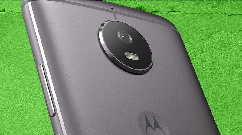 Moto g5s cámara