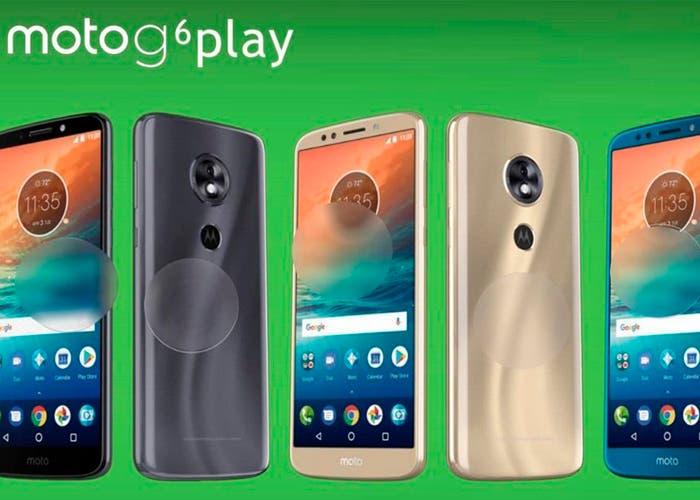Estas son las características del Motorola Moto G6 Play que veremos en el MWC