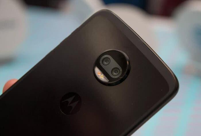 Motorola Moto Z cámara