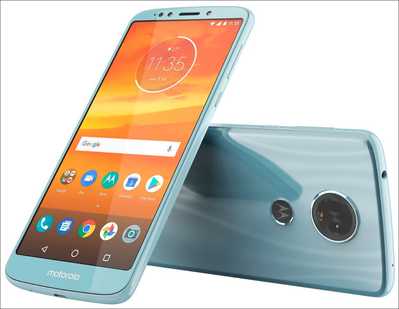 Motorola Moto E5 Plus Azul