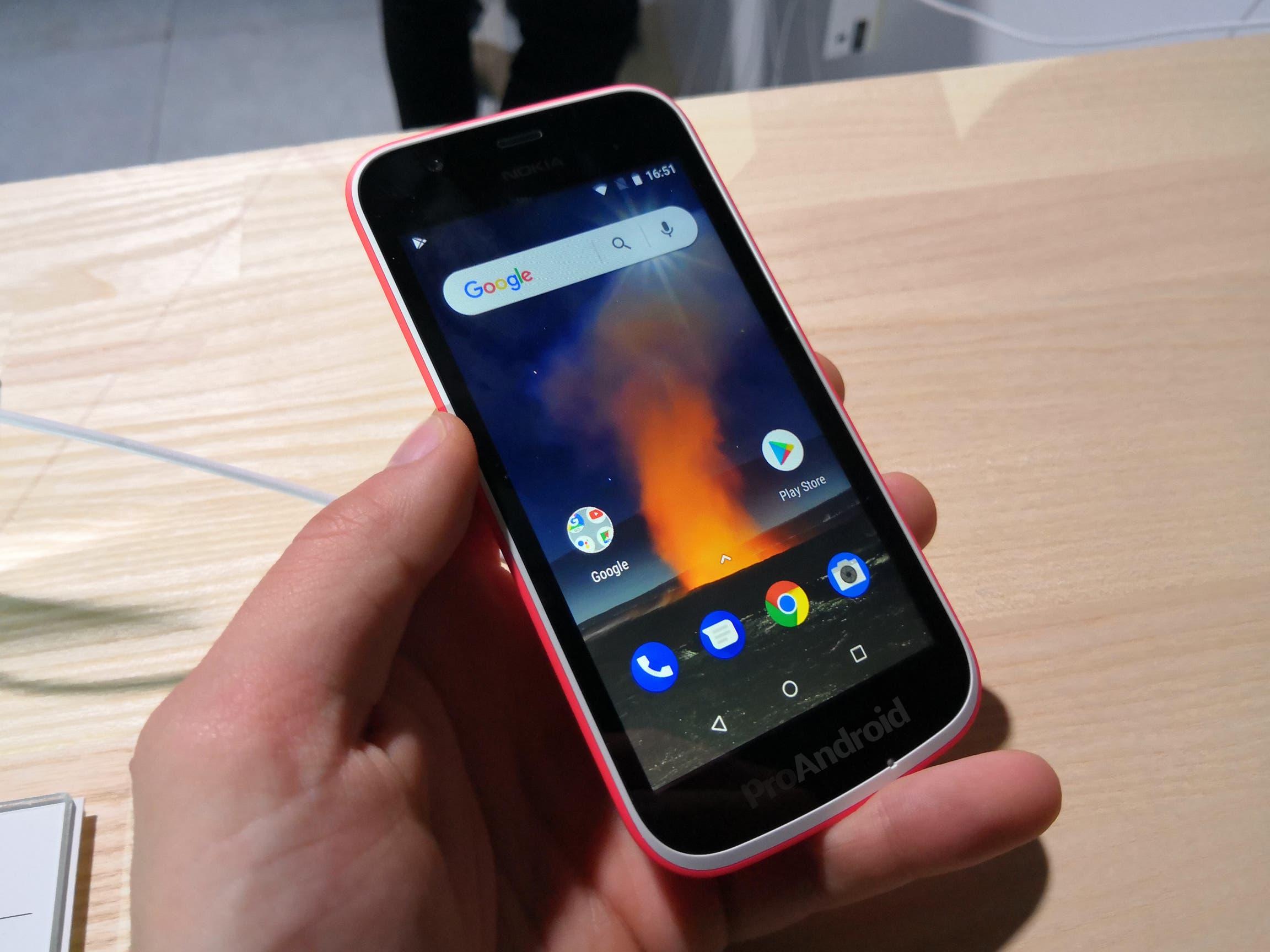 Nokia 1 Pantalla