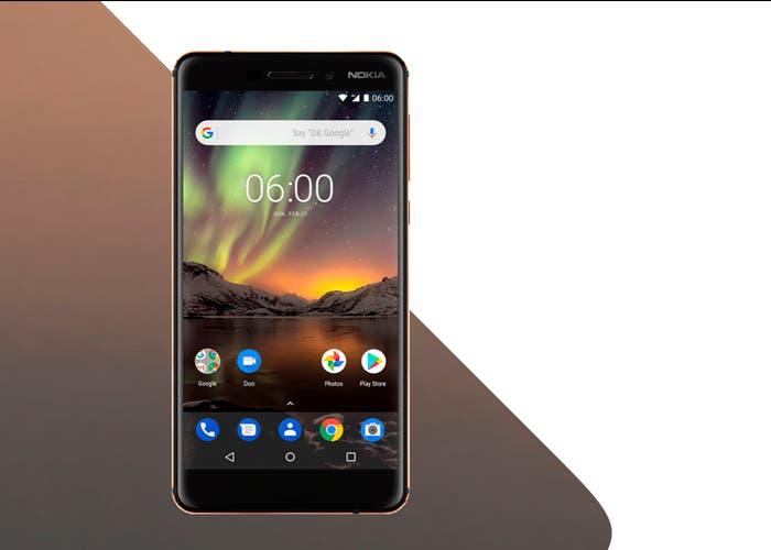 Nokia 6 2018: los finlandeses apuestan por un nuevo gama media