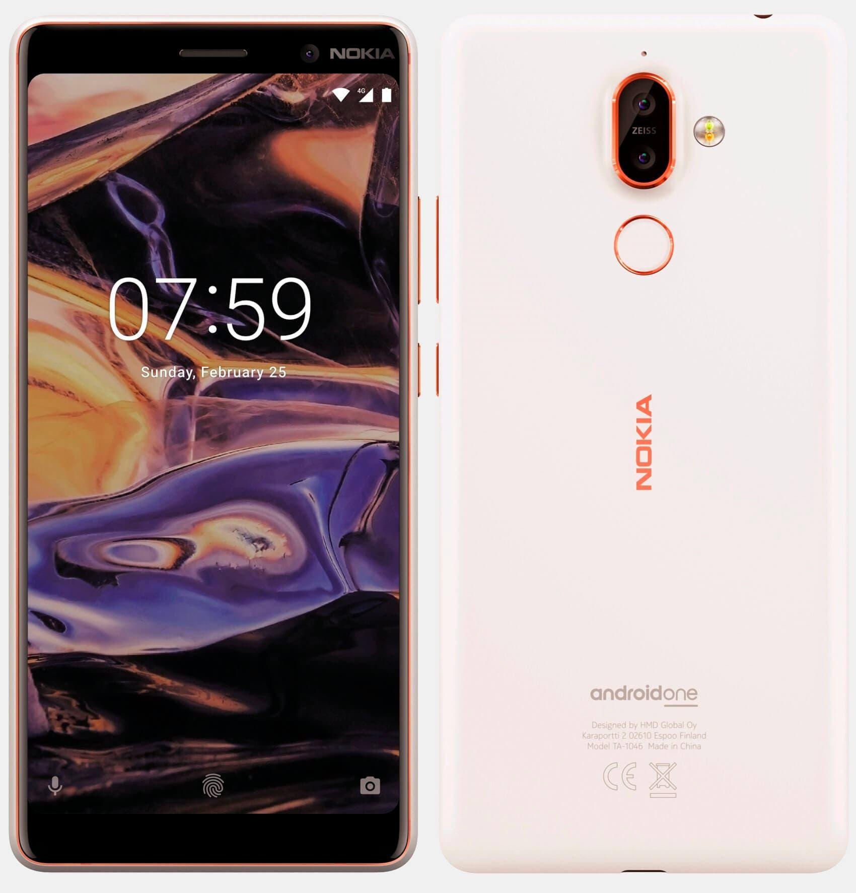 Nokia 7+ Blanco